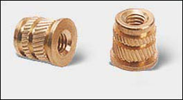 Brass Inserts Brass Moulding Inserts Threaded Inserts Brass